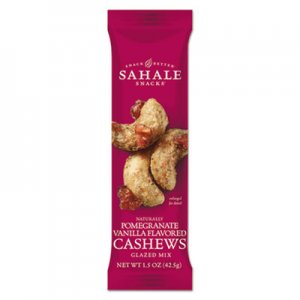 Sahale Snacks Glazed Mixes, Cashew Pom Vanilla, 1.5 oz SMU900328 9386900328