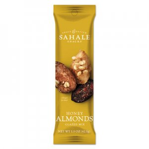 Sahale Snacks Glazed Mixes, Honey Glazed Almond, 1.5 oz SMU900327 9386900327
