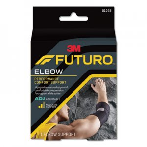 Futuro Precision Fit Elbow Support, Black MMM01038EN 01038EN