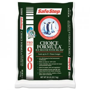 Safe Step Pro Series 960 Choice Formula Ice Melt, 50lb Bag, 49/Carton NASSS56960PL ICE SS56960