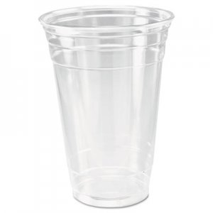 Dart Ultra Clear Cups, 20 oz, PET, 50/Bag, 600/Carton DCCTP20 DCC TP20