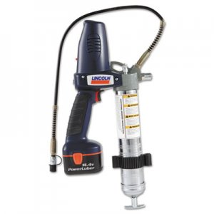 LINCOLN PowerLuber Grease Gun, 2 Speed, 14.4V, Cordless LIC1442 1442