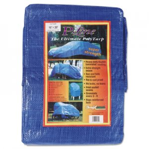 Anchor Brand Multiple Use Tarpaulin, Polyethylene, 16 ft x 20 ft, Blue ANR1620