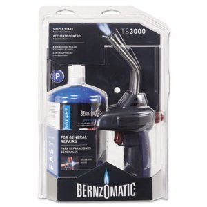BernzOmatic Basic Propane Quickfire Self-Igniting Torch Kit BNMTS3000KC 189-TS3000KC