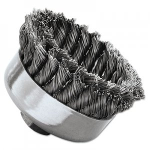 Weiler SR-4 General-Duty Knot Wire Cup Brush, .023 WEI12316 804-12316