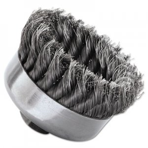 Weiler SR-4 General-Duty Knot Wire Cup Brush, .014 WEI12306 804-12306