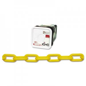 Campbell Plastic Chain, #8, 138ft, Yellow, Square Pail CMB0990836 0990836