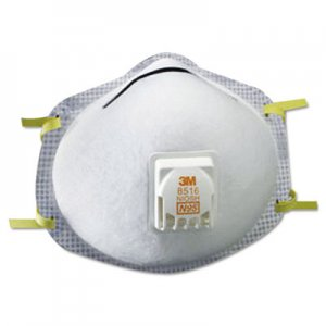 3M N95 Particulate Respirator, Nuisance Level Acid-Gas Relief MMM8516 8516