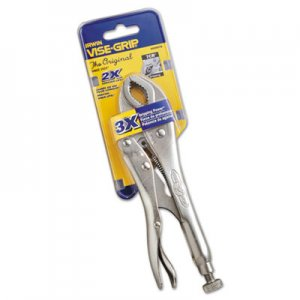 "IRWIN VISE-GRIP 7CR Original Fast Release Locking Pliers, 7"" Tool Length, Curved Jaw VSE4935578 586-4935578"