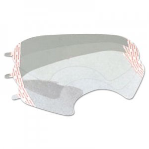3M 6000 Series Full-Facepiece Respirator-Mask Faceshield Cover, Clear MMM6885 142-6885