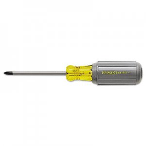 "Stanley Tools Vinyl-Grip Phillips Tip Screwdriver, #2, 4"" Long BOS65902 680-65-902"