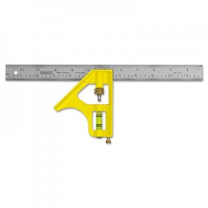 "Stanley Tools Combination Square, 16"" Blade BOS46131 680-46-131"
