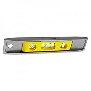 "Stanley Tools Magnetic Torpedo Level, 9"", Aluminum BOS42465 680-42-465"