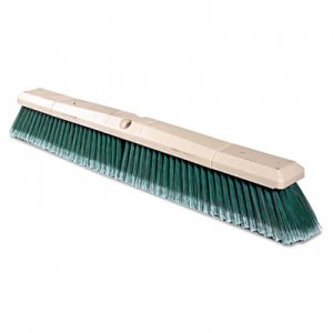 "Weiler Green Polystyrene Fine-Grade Perma-Sweep Floor Brush, 24"" WEI42164 804-42164"
