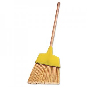 "Weiler Angle Broom, Flagged Plastic Bristles, 7-1/2"" - 6"" Bristles, 54"" Length WEI44305 804-44305"