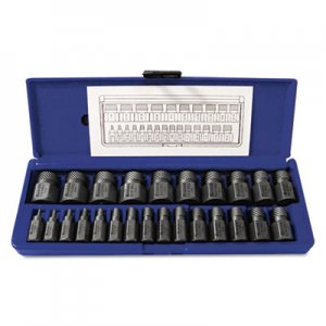 IRWIN Hex-Head Multi-Spline Screw Extractor, 25-Piece Set HNS53227 53227