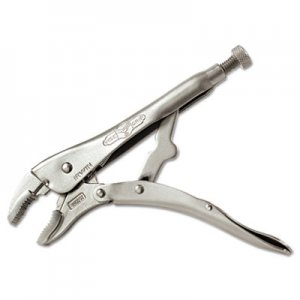 "IRWIN Original Curved-Jaw/Cutter Locking Pliers, 10"" Tool Length, 1 7/8"" Jaw Capacity VSE10WR3 586-10WR-3"