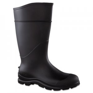 SERVUS by Honeywell CT Economy Knee Boots, Size 10, 15in Tall, Black, PVC SVS1882210 617-18822-10