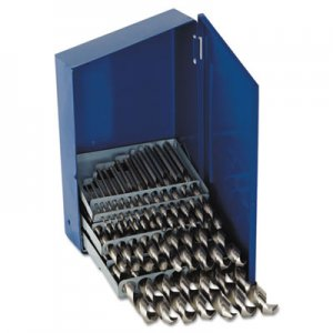 IRWIN 29-Piece High-Speed Steel Drill Bit Set, 3/8in Shank IRW60148 60148