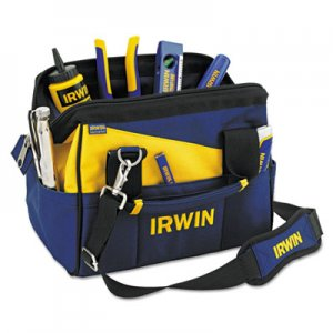 IRWIN Contractors Zippered Tool Bag, 12in IRW4402019 585-4402019