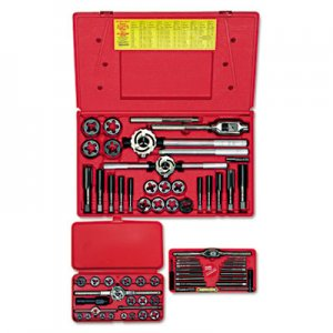 IRWIN HANSON Tap & Die Set, Steel, 66 Pieces HNS97312 97312