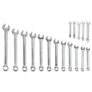 Blackhawk Blackhawk 17-Piece Combination Wrench Set, SAE BCKMF017 MF-017