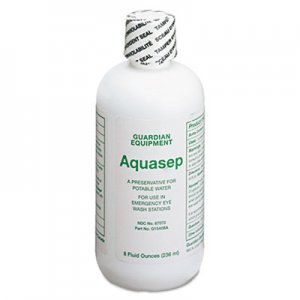Guardian Additive for Portable Emergency Eyewash Stations, 8oz Bottle GUAG1540BA 333-G1540BA