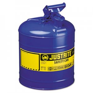 JUSTRITE Type I Safety Can, 5gal, Blue JUS7150300 400-7150300