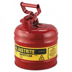 JUSTRITE Safety Can, Type I, 2gal, Red JUS7120100 400-7120100