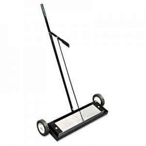 The Magnet Source Magnetic Floor Sweeper, With Release, 24in MGCMFSM24RX 456-MFSM24RX