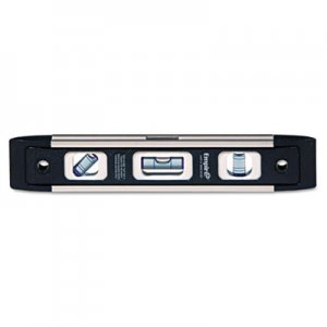 "Empire em81 Series True Blue Torpedo Level, 9"" Long, Aluminum, Tri-Vial EMLEM819 272-EM81.9"
