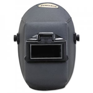 "Jackson Safety HUNTSMAN Fiber Shell Welding Helmet, 4 1/4"" x 2"", Black KCC14528 14528"