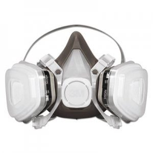 3M Half Facepiece Disposable Respirator Assembly MMM53P71 142-53P71