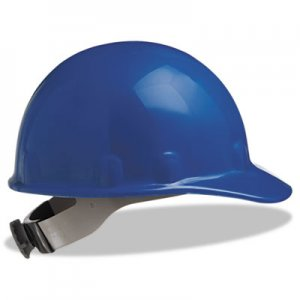 Fibre-Metal by Honeywell E-2 Cap Hard Hat With Ratchet Suspension, Blue FBRE2RW71A000 E2RW71A000
