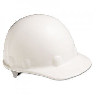 Fibre-Metal by Honeywell E-2 Cap Hard Hat With Ratchet Suspension, White FBRE2RW01A000 E2RW01A000