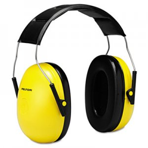 3M Optime 98 H9A Earmuffs, 25 dB NRR, Yellow/Black MMMH9A 247-H9A