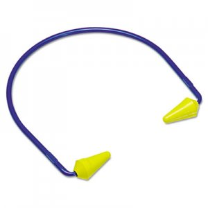 3M CABOFLEX Model 600 Banded Hearing Protector, 20NRR, Yellow/Blue MMM3202001 247-320-2001