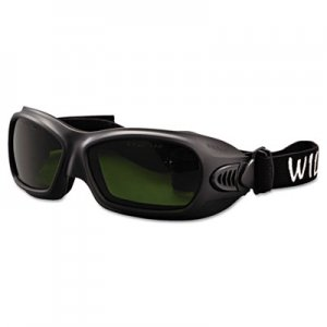Jackson Safety V80 WildCat Cutting Goggles, Black Frame, Shade 3.0 Lens KCC20528 20528