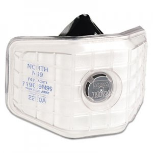 North Safety 7190 Series Welder's Reusable Particulate Respirator, Non Oil, N99 NSP7190N99 068-7190N99