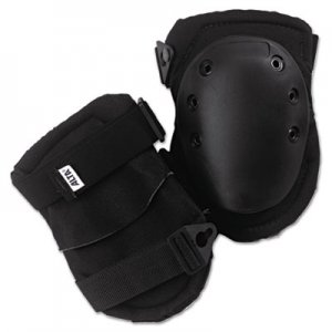 ALTA AltaLok Knee Pads, Fastener Closure, Neoprene/Nylon, Rubber, Black ATA50413 039-50413