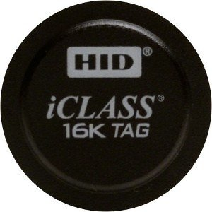HID 206x iCLASS Tag with Adhesive Back 2060PKSMN