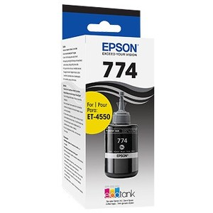 Epson Black Ink Bottle, High Capacity (120) T774120 T774