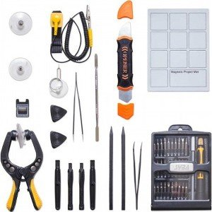 SYBA Complete Essential Electronic Repair Tool Kit SY-ACC65094