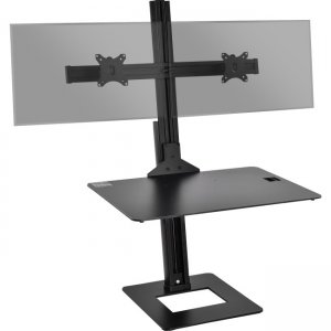 SIIG Dual Display Adjustable Computer Keyboard Stand CE-MT2H12-S1