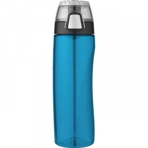 Thermos Teal Hydration Bottle with Rotating Meter on Lid HP4100TLTRI6 THZHP4100TLTRI6