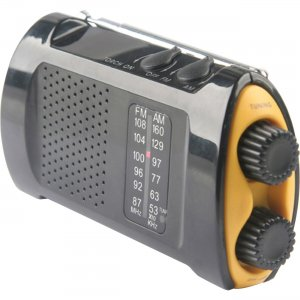 First Aid Only Portable AM/FMTV Crank Radio 90423 FAO90423