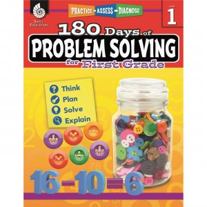 Shell 180 Days of Problem Solving for First Grade 51613 SHL51613