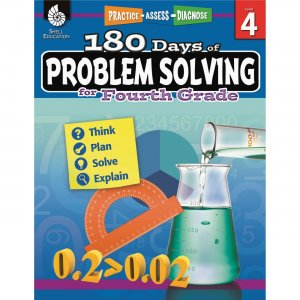 Shell 180 Days of Problem Solving for Fourth Grade 51616 SHL51616