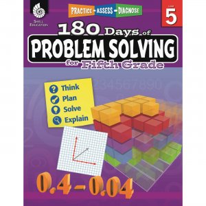 Shell 180 Days of Problem Solving for Fifth Grade 51617 SHL51617