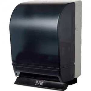 Silhouette Black Translucent Roll Towel Dispenser 16000 WAU16000